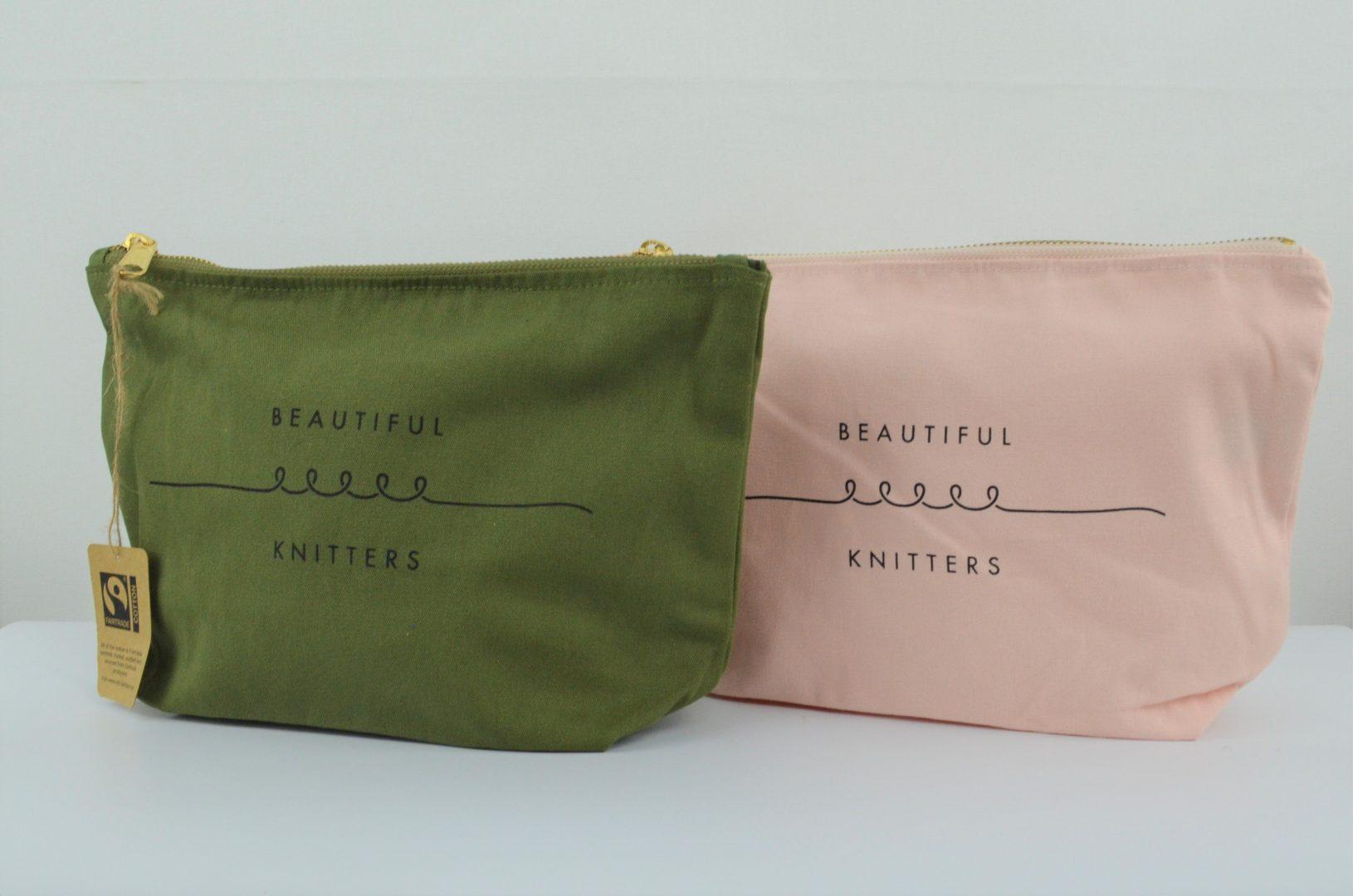 BIDBI beautiful knitters zip purse